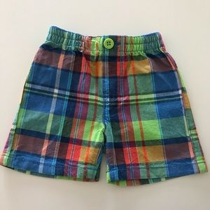 Colorful baby boy children's place shorts